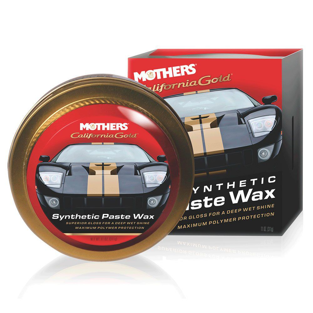 MOTHERS CALIFORNIA GOLD SYNTHETIC PASTE WAX 311G  - Loja Go Eco Wash
