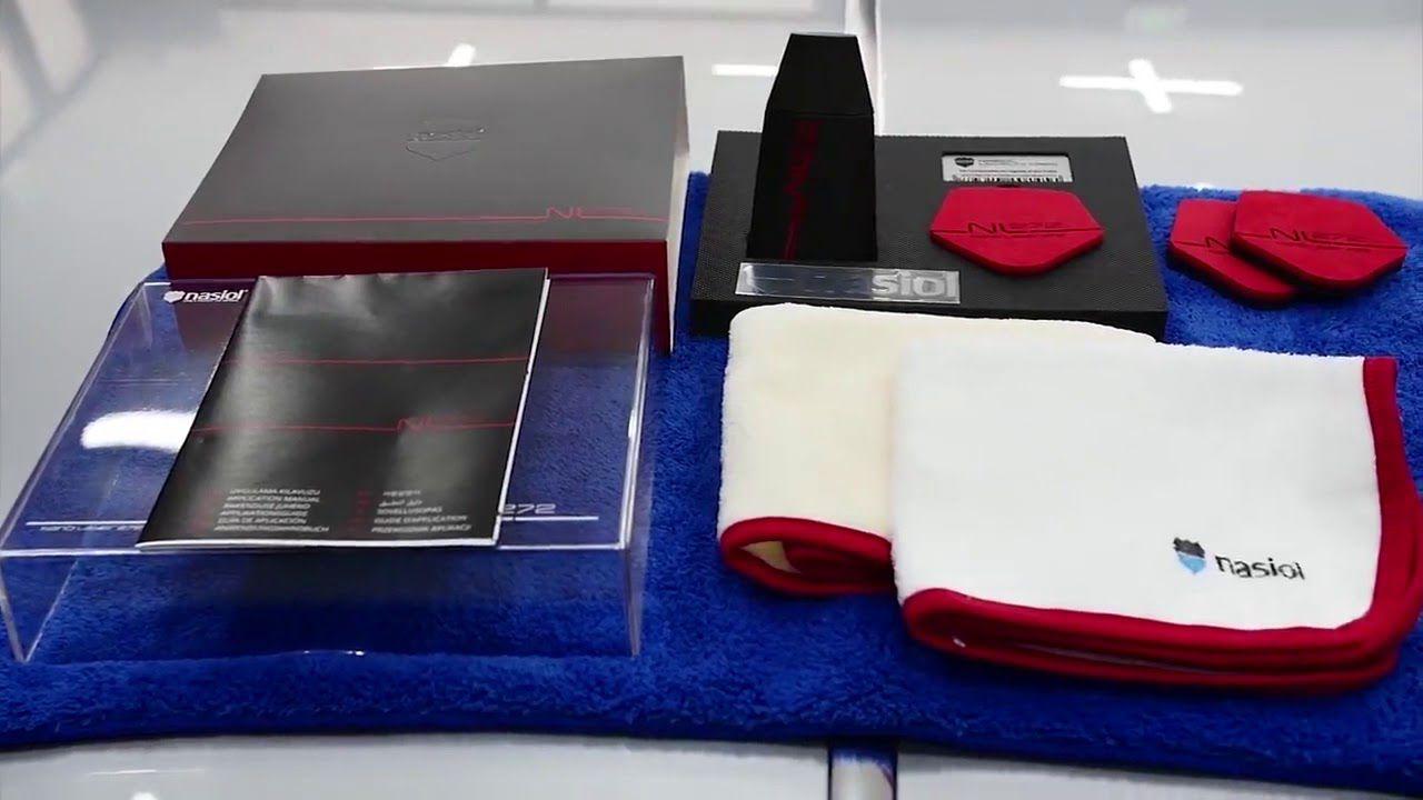 NASIOL NL272 - Nanoproteção de Pinturas, Plásticos e Metais - 9H (50ml)  - Loja Go Eco Wash