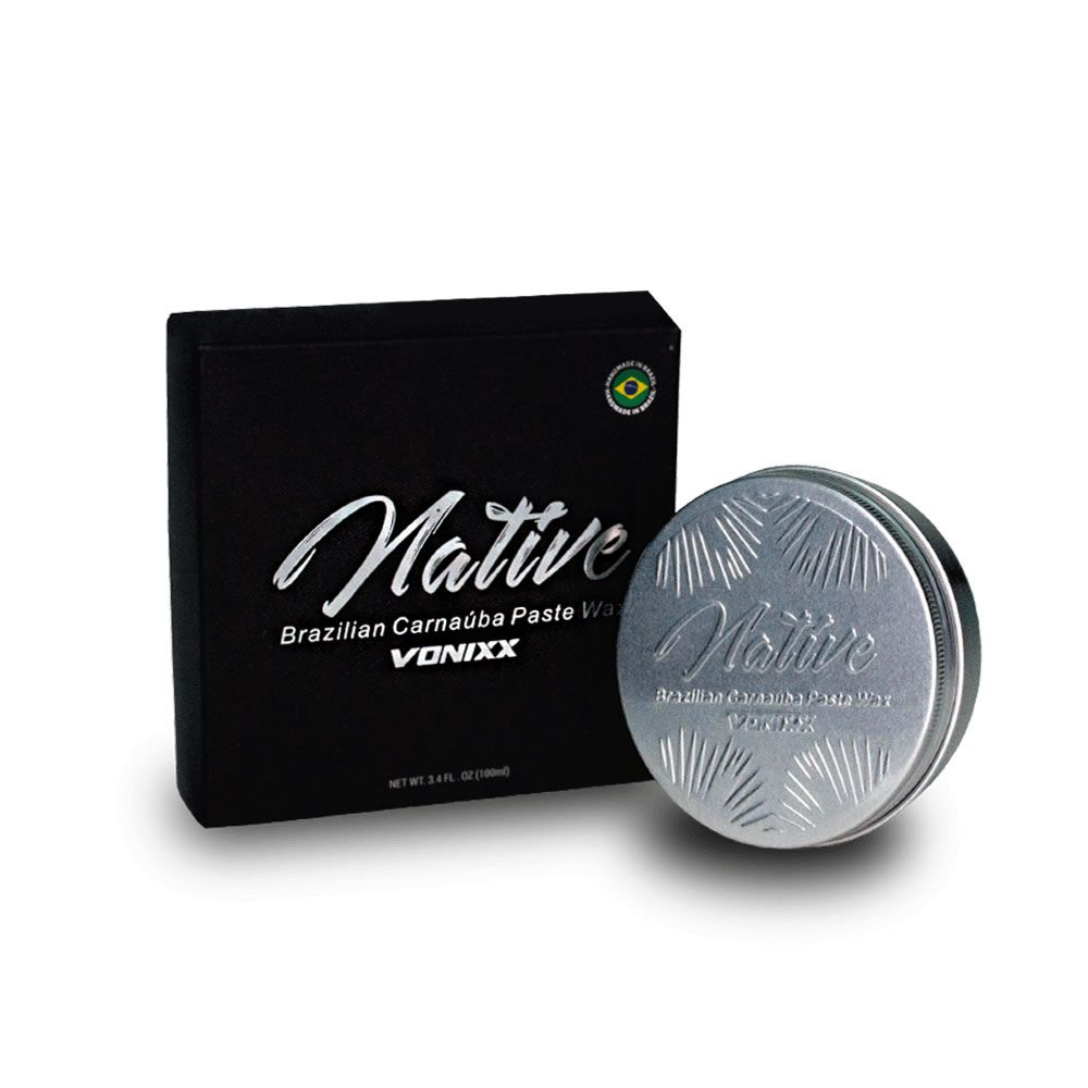 Native Brazilian Carnaúba Paste Wax (100ml)  - Loja Go Eco Wash