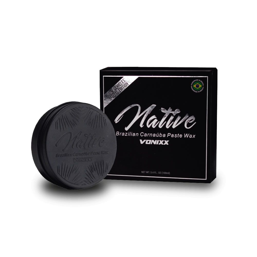 Native Brazilian Carnaúba Paste Wax – Black Edition (100ml)  - Loja Go Eco Wash
