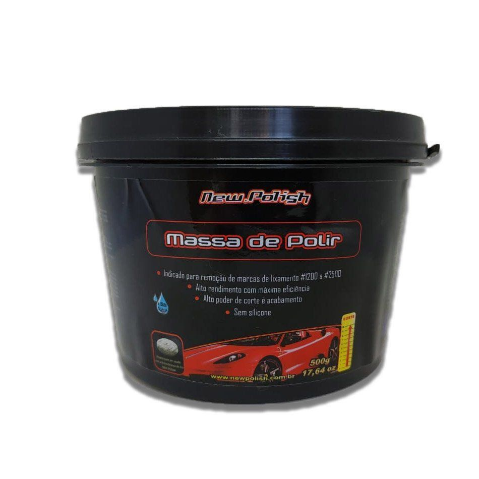 New Polish Massa de Polir 500g  - Loja Go Eco Wash