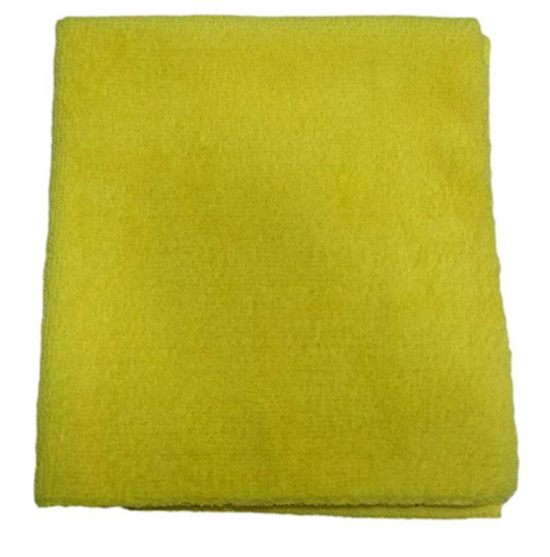 Pano de Microfibra 330gsm 40x40 corte laser - amarelo (Detailer)  - Loja Go Eco Wash