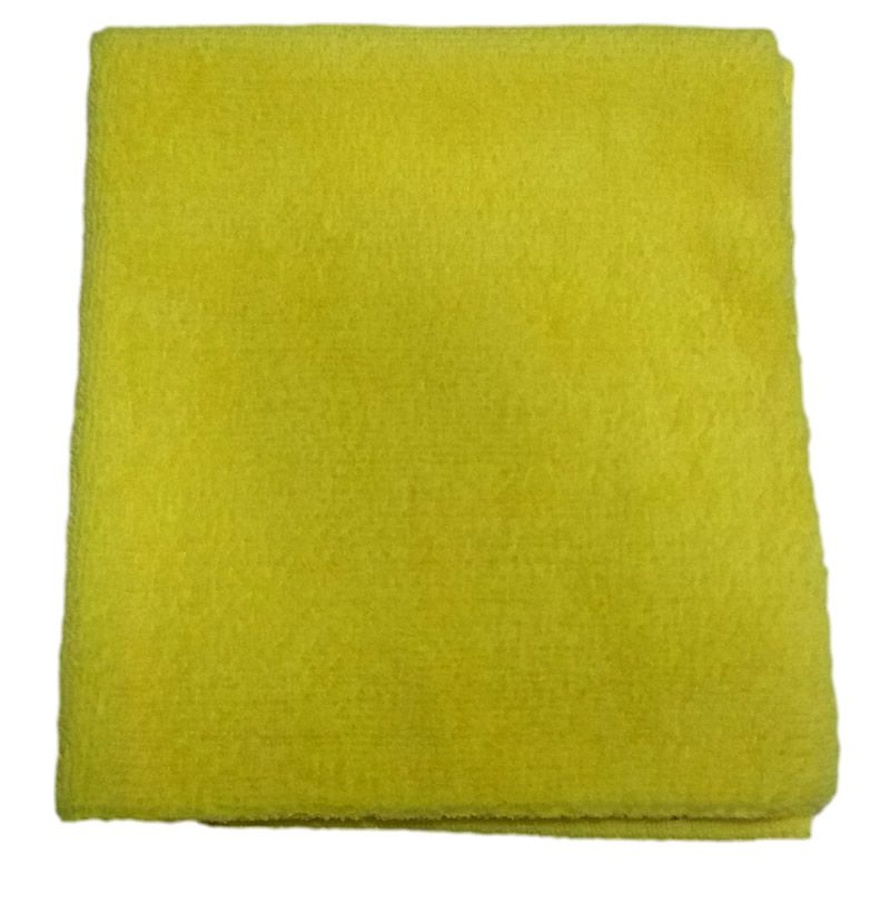 Pano de Microfibra 330gsm 40x60 corte laser - amarelo (Detailer)  - Loja Go Eco Wash