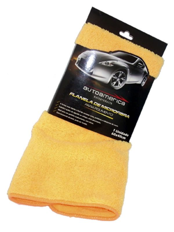 Pano de Microfibra Premium  40cm x 60cm (Autoamerica) -   s/ embalagem  - Loja Go Eco Wash