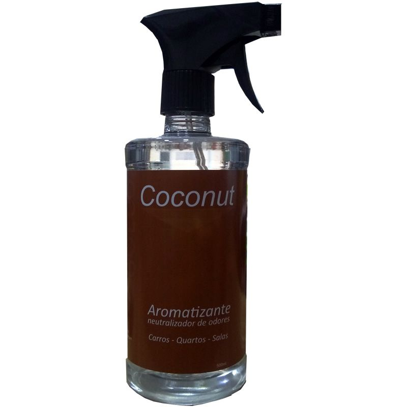 Perfume Aromatizante 500ml -  Coconut (Go Eco Wash)  - Loja Go Eco Wash