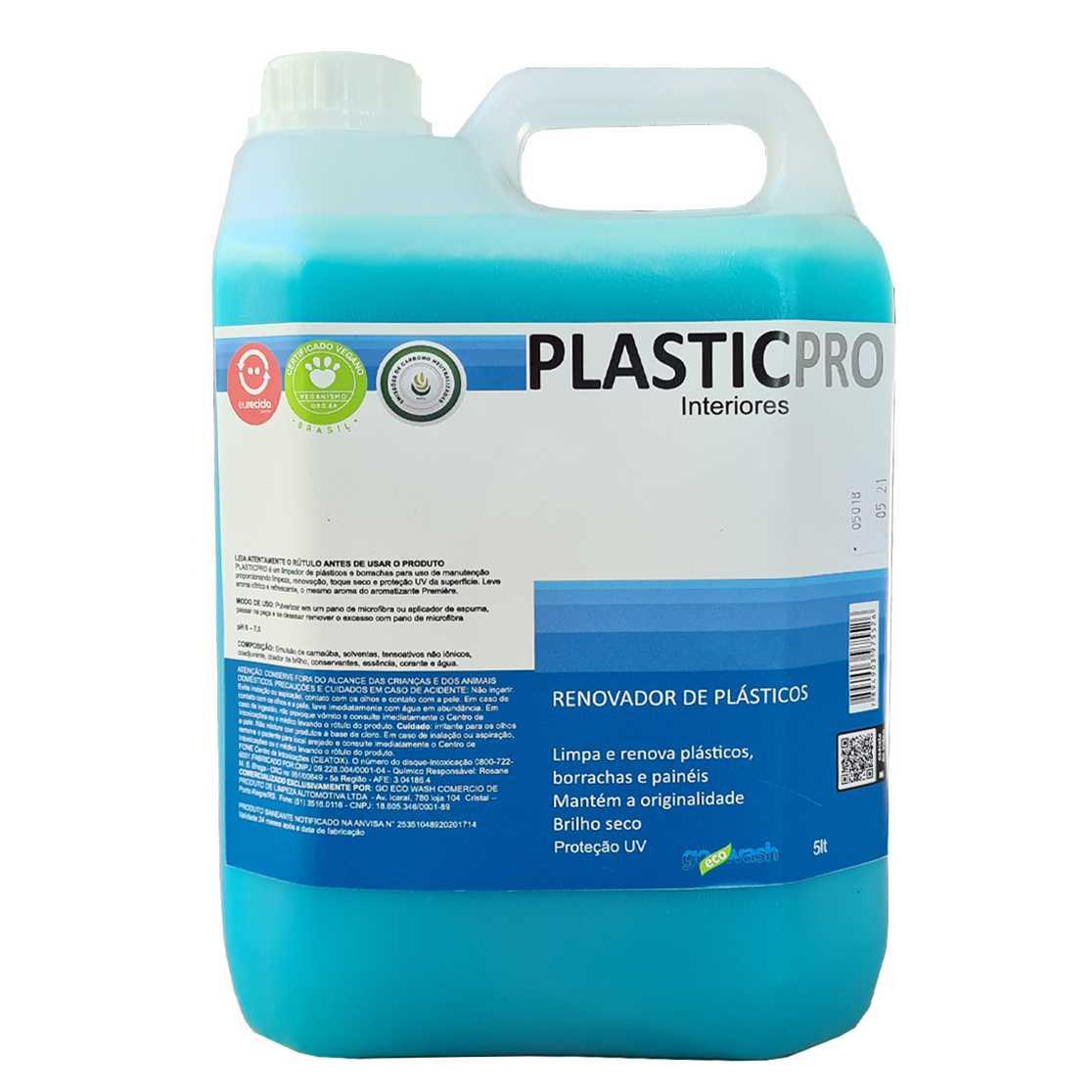 PlasticPro - Renovador de Plásticos e Borrachas 5lt (Go Eco Wash)  - Loja Go Eco Wash
