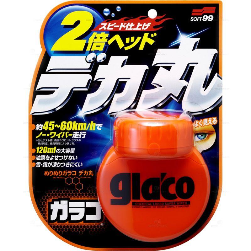 Soft99 Big Glaco Cristalizador de Vidros - 120ml  - Loja Go Eco Wash