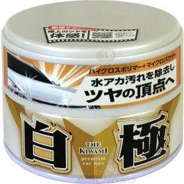 Soft99 Extreme Gloss White Cleaner - Cera Sintética com Carnaúba Premium - 200g  - Loja Go Eco Wash