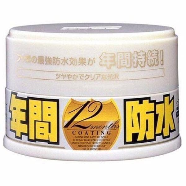 Soft99 Fusso Coat Selante Longa duração até 12 meses - Light - Paste Wax - 200g  - Loja Go Eco Wash