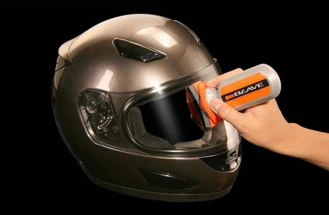 Soft99 - Glaco Blave Cristalizador de Viseiras de capacetes e Farois(Motocicletas) - 70ml  - Loja Go Eco Wash