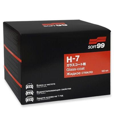 Soft99 H7 Glass Coat - Vitrificador 03 anos de proteção - 100ml  - Loja Go Eco Wash