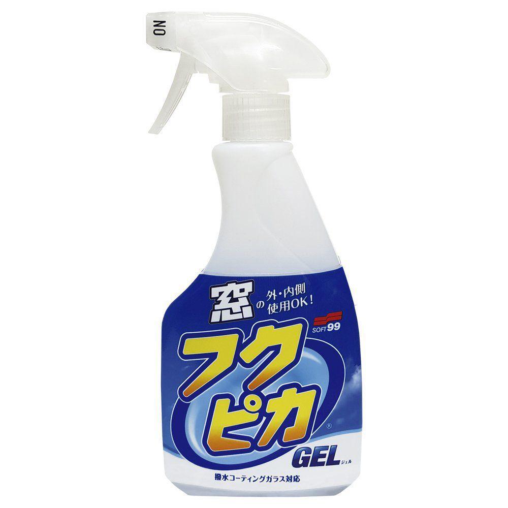 SOFT99 LIMPA VIDROS EM GEL FUKUPIKA 500ML   - Loja Go Eco Wash