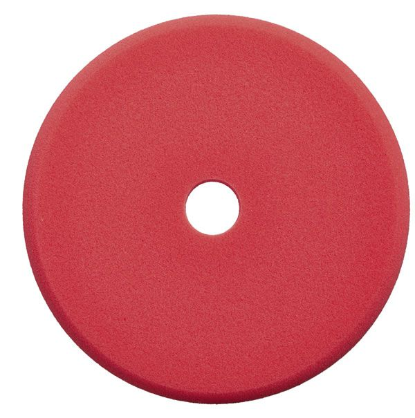 """Sonax Boina de Espuma Vermelha com Furo Central Corte 143mm - 5""""  - Loja Go Eco Wash"""