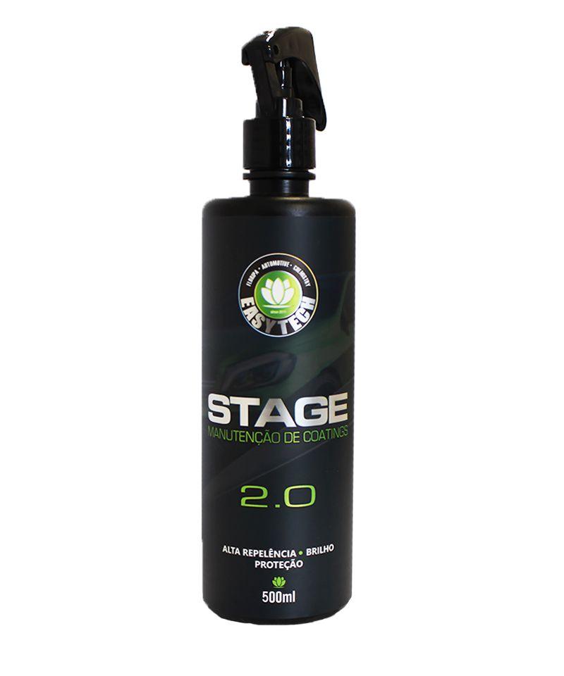 STAGE 2.0 – MANUTENÇÃO DE VITRIFICADORES – 500ML  - Loja Go Eco Wash