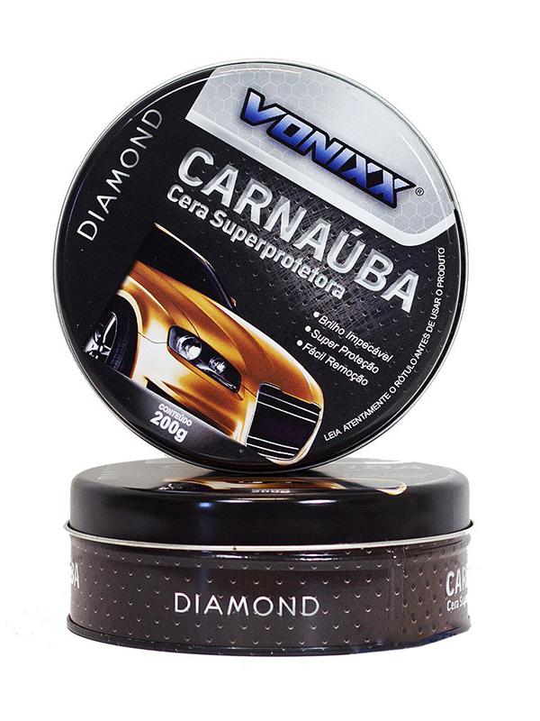 Vonixx Carnaúba Cera Super Protetora - 200g  - Loja Go Eco Wash