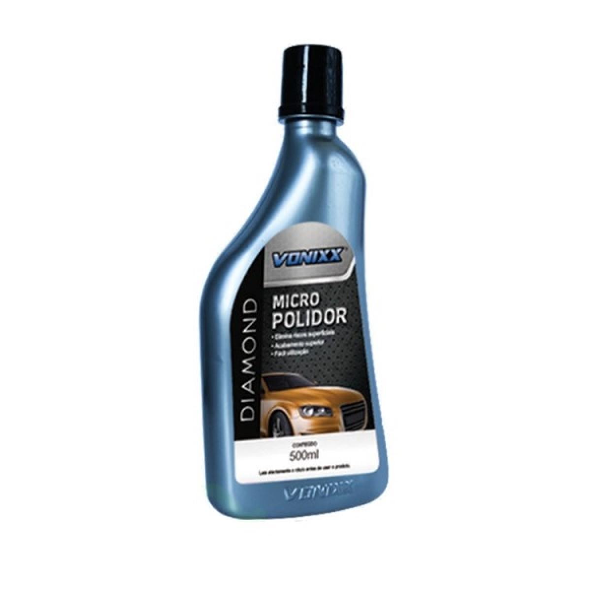 Vonixx Diamond Micro Polidor - 500ml  - Loja Go Eco Wash