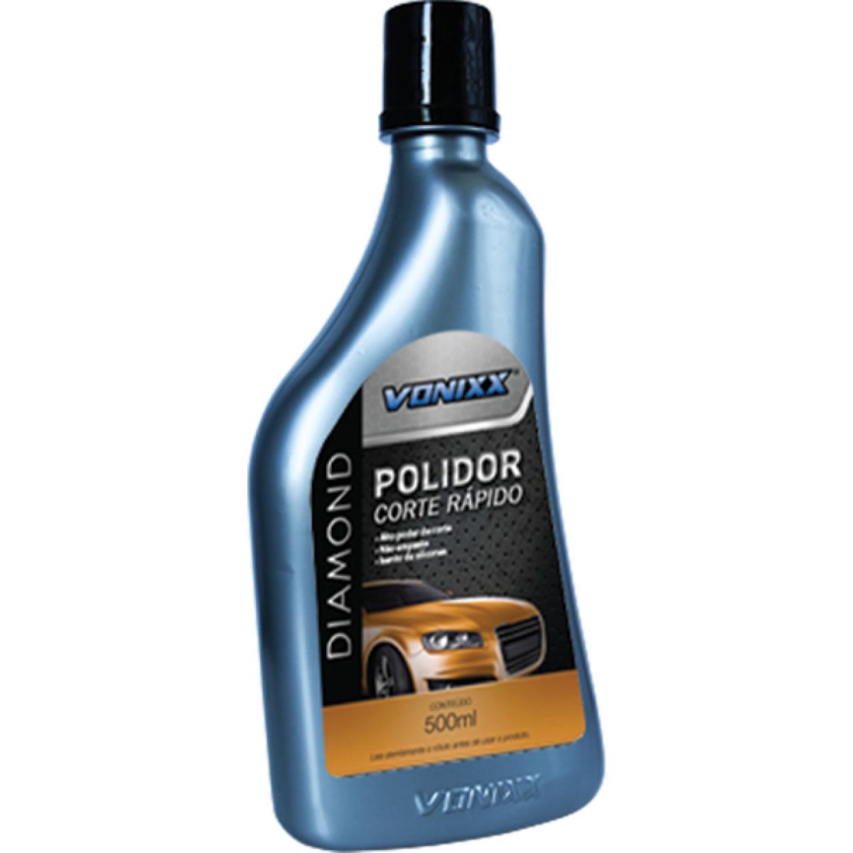 Vonixx Diamond Polidor Corte Rápido - 500ml  - Loja Go Eco Wash