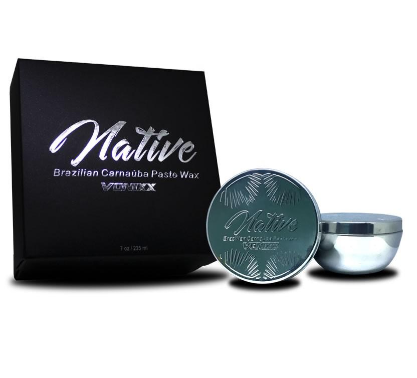 Vonixx NATIVE Cera de Carnaúba Premium 235 ml  - Loja Go Eco Wash