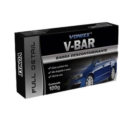 Vonixx V-Bar – Barra descontaminante Clay bar 100g)  - Loja Go Eco Wash