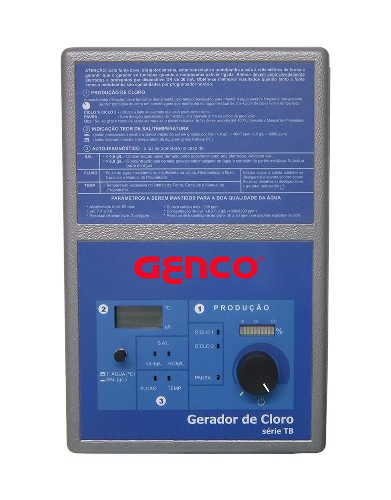 Gerador de Cloro Série TB - Modelo TB-60