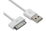 Cabo 30 Pin Usb Para Ipod - Iphone 4- 4s - Ipad3- Branco