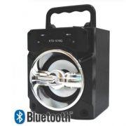 Caixa De Som Portátil Com Bluetooth Kts-1018g - Cores Sortidas