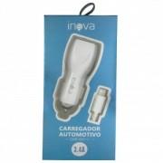 Carregador Veicular Inova 3.4a iPhone
