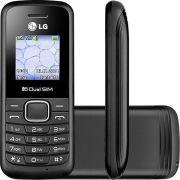 Celular Dual Chip LG B220  Rádio FM - Preto