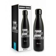 GARRAFA TÉRMICA METAL NEO 500 ML - TRAIN HARD DRINK