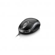 Mouse Òptico Preto Com Fio Notebook Pc Kapbom Ka - 601