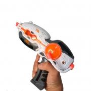 Lançadora De Brinquedo Infantil Space Equipped Com Luz E Som