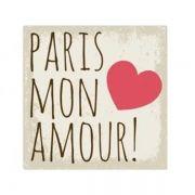 Placa Paris Mon Amour
