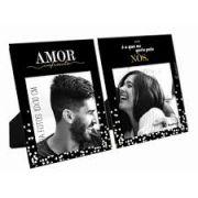 Porta Retrato Duplo - Amor - É O Que Eu Quero Para Nós