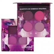 Quarteto de Sombras Ludurana - Orquídea