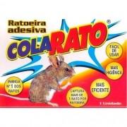 Ratoeira Adesiva Pega Cola Rato - Caixa com 20 Unidades
