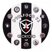 Relógio de Parede 30x30 - Botafogo