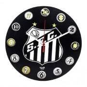Relógio de Parede Santos FC Oficial - Ideias! Ideias