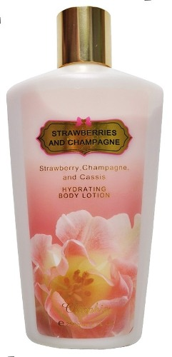 Victoria`s Secret Creme Hidratante Strawberries E Champagne