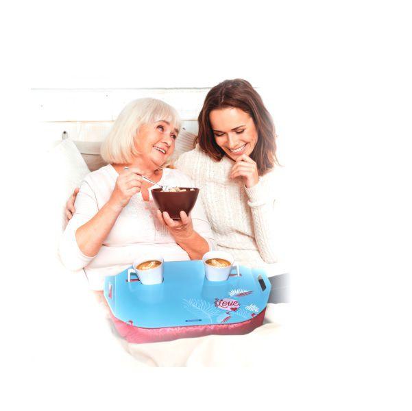 Almofada Café da Manhã Mãe e Filha não da Para Definir