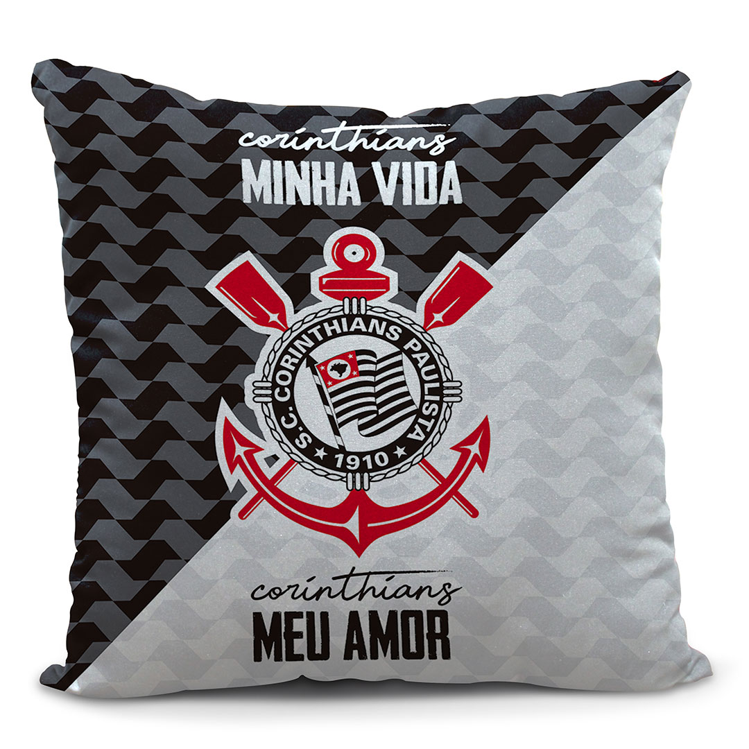 Almofada Corinthians Minha Vida