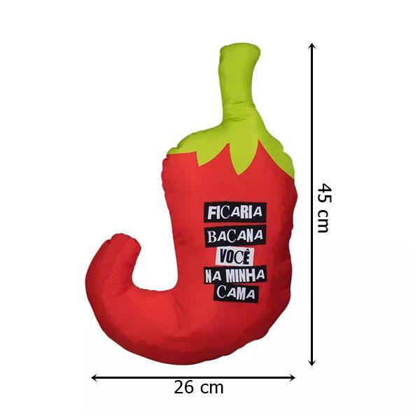 Almofada Formato Pimenta
