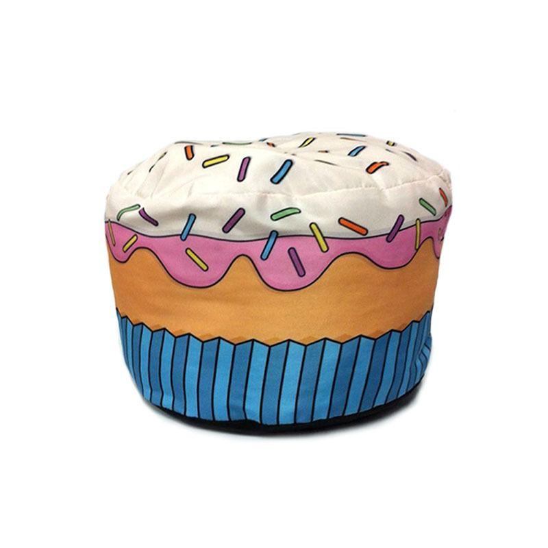 Pufe Almofada Puff Cupcake