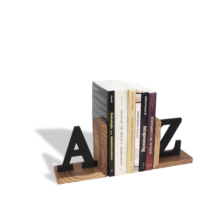 Aparador de Livros Suporte A-Z