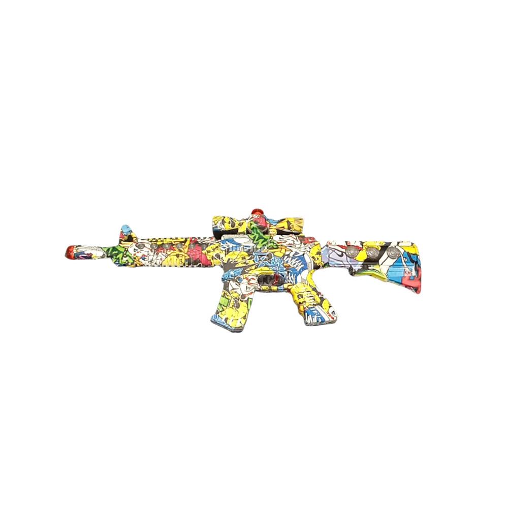lançadora De Brinquedo Estampado Com Som Lazer E Vibração 52Cm