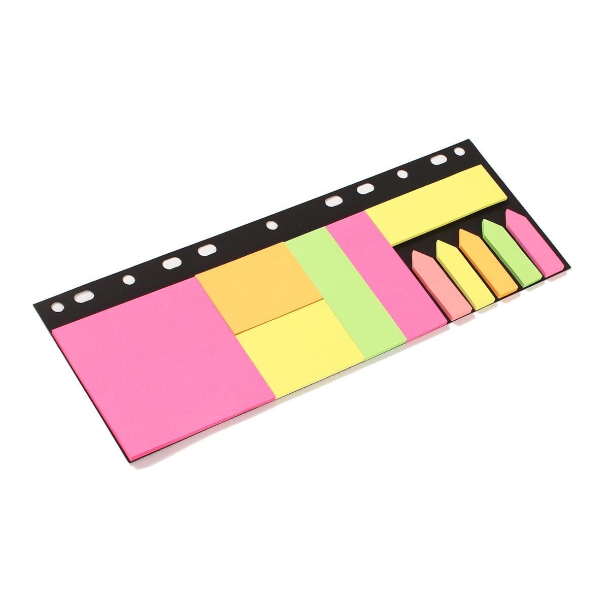 Blocos de Papel Auto Adesivos (Stick Notes) Coloridos