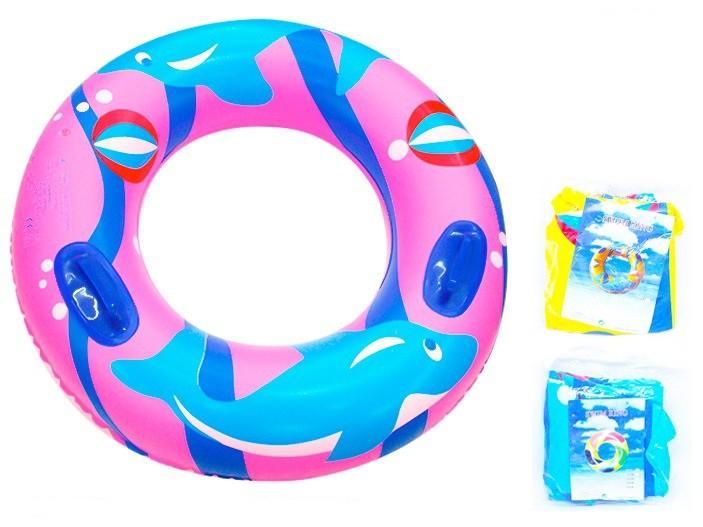 boia circular infantil golfinhos