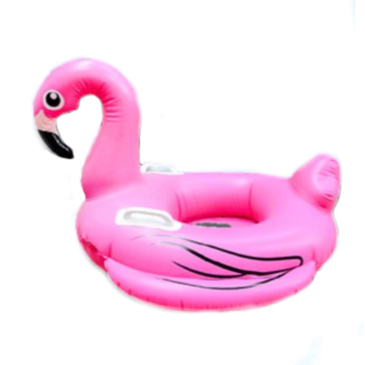 Boia de flamingo com assento bebÊ