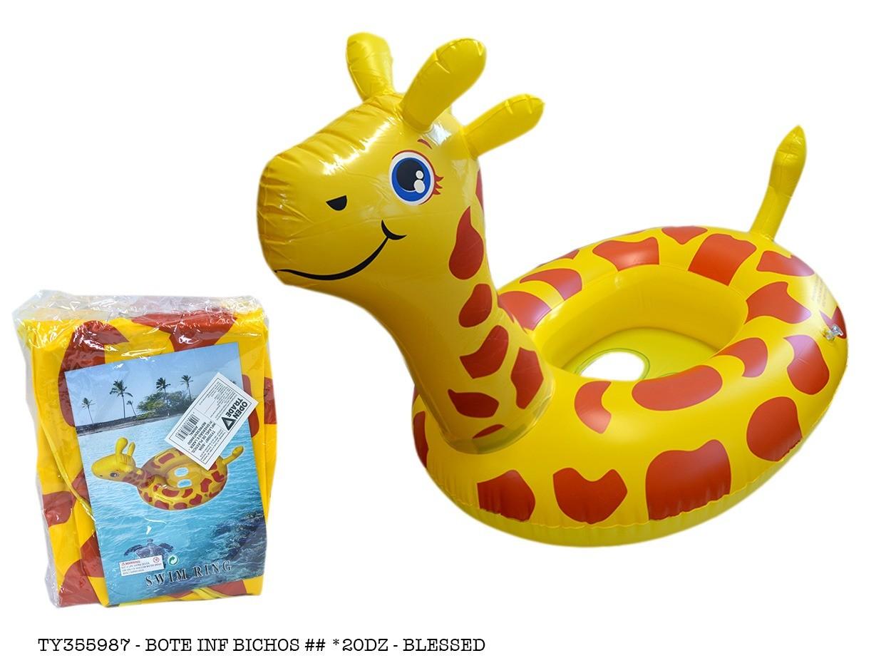 Boia Inflavel Girafa Girafa Infantil