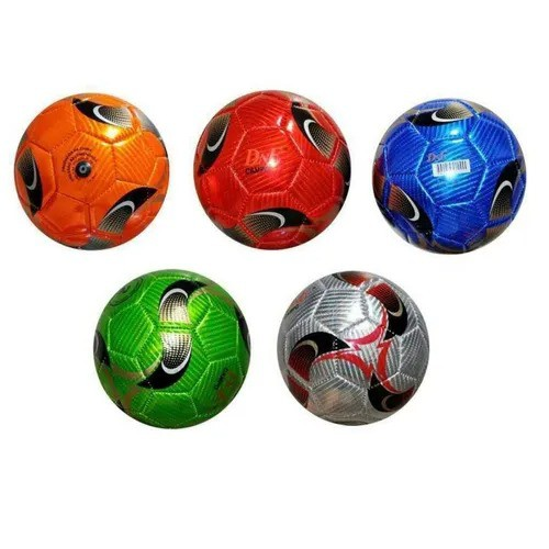 Bola De Futebol Brilhante Sortida Nº2 Letras Números Pequena
