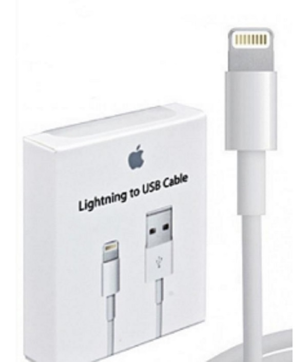 Cabo Lightning 1m - USB -  iPhone 5,6  iPad Mini, iPad
